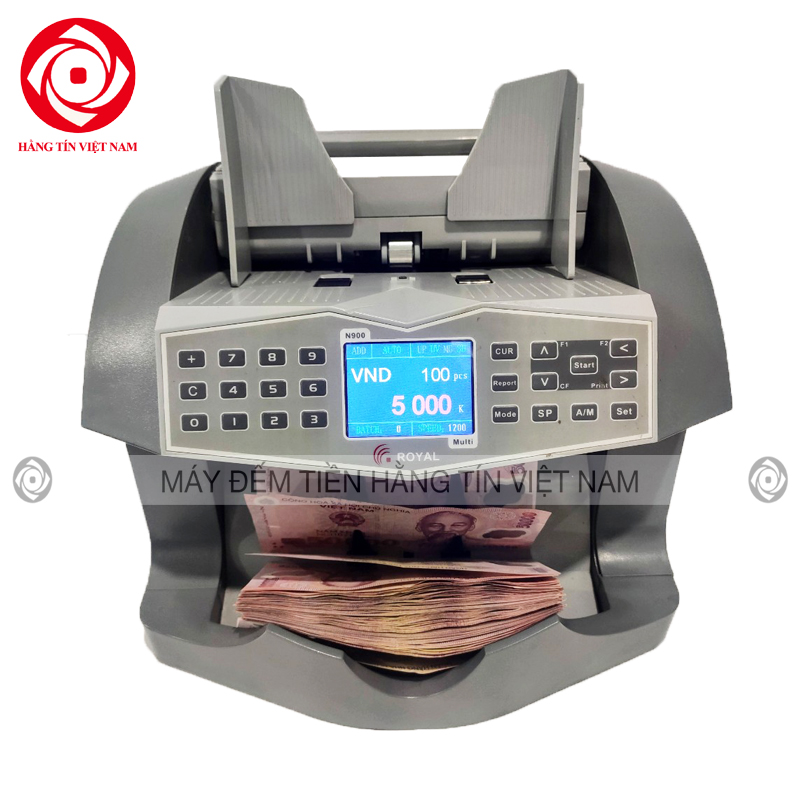 Máy đếm tiền ROYAL N900